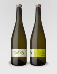 """Игристое вино """"Каза Фонте Пекена"""" DOC Виньо Верде белое полусухое 0,75л."""